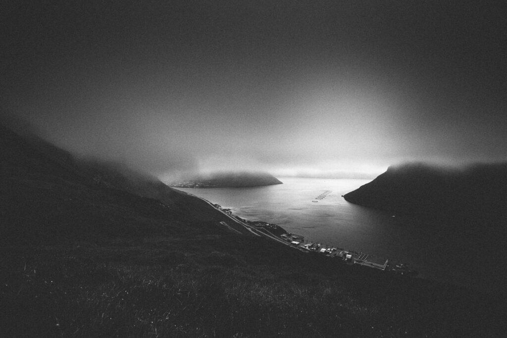 Udsigt syd for Klaksvik