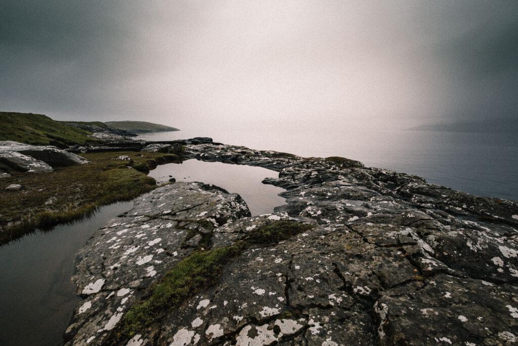 Foto af tåge, Eysturoy