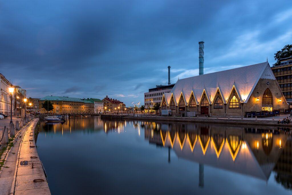 nattebillede fra Goteborg