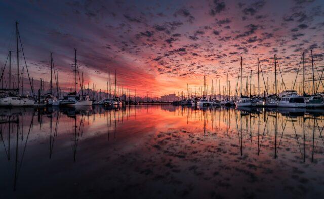 Sådan fotograferer du solnedgang