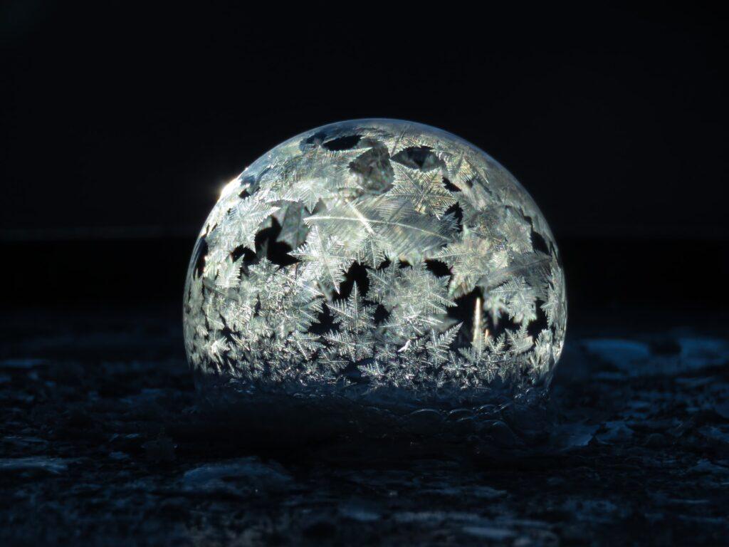 Stjerneformede krystaller